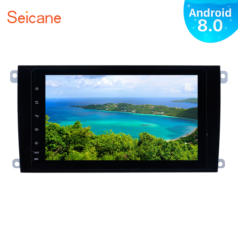 Seicane Android 8.0 8 inch Car Radio For 2003 2011 Porsche cayenne 2Din GPS Navigation Multimedia Player Touchscreen Head Unit