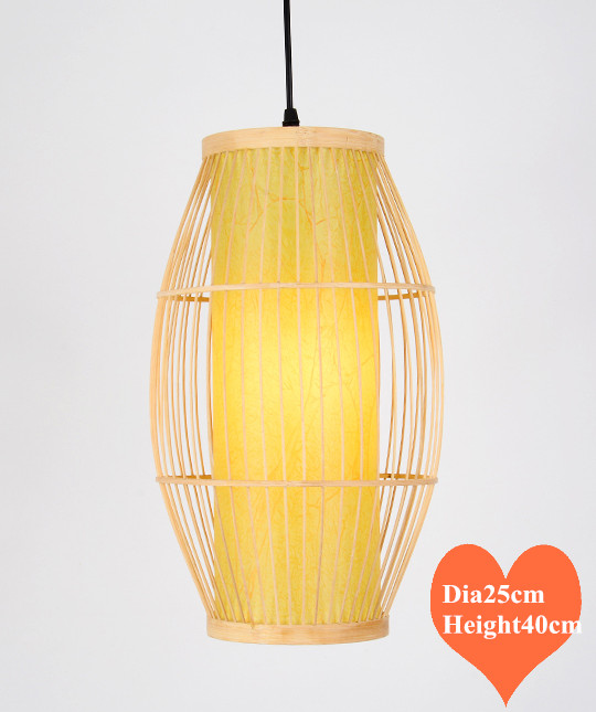 Chinese style creative hand knitting Bamboo art Chandelier Modern rural E27 LED lamp for porch&parlor&stairs&corridor LHDD050 southeast asia style hand knitting bamboo art pendant lights modern rural e27 led lamp for porch