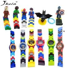 Yamala Super héros DC Avengers Blocs de construction Briques Boîte d'origine Montre Briques Compatible legoingly Jouets pour enfants cadeau