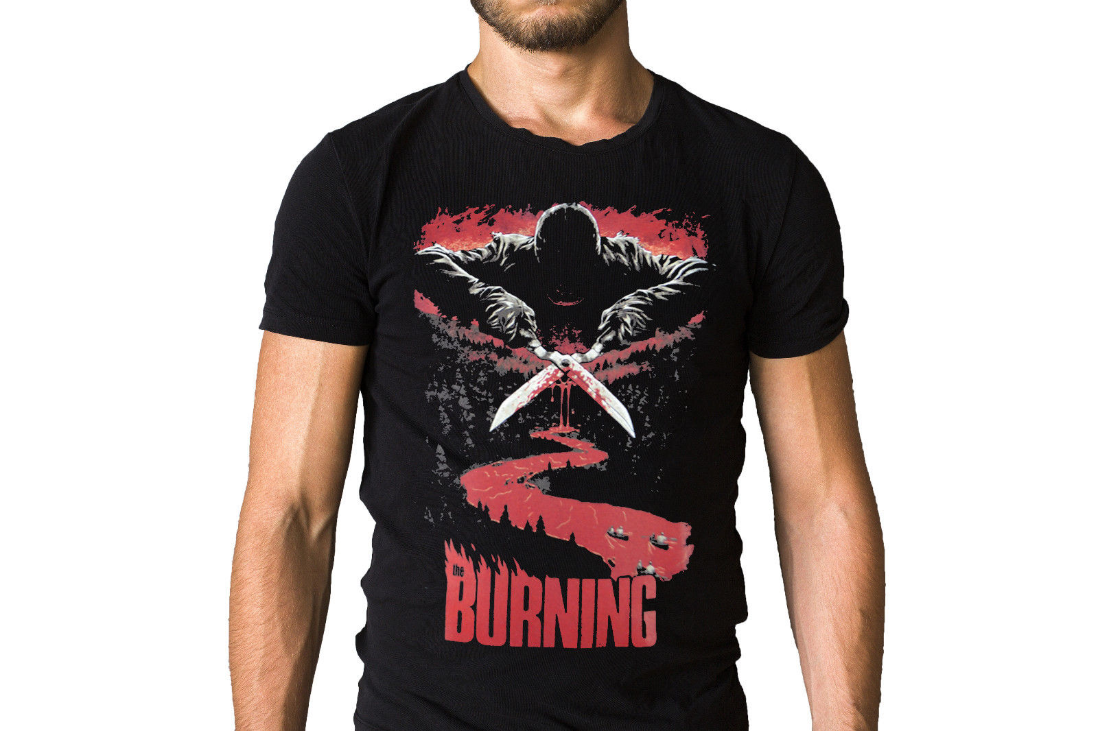 The Burning 1981 Film Poster T-Shirt