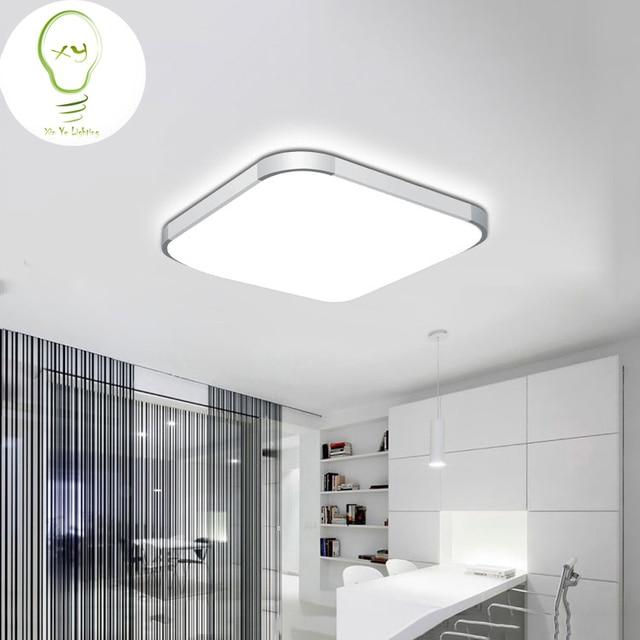 5% OFF 2018Modern LED Apple Ceiling light Square 24W 30CM led ...