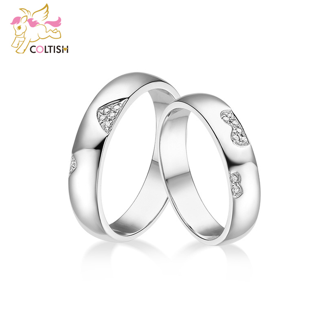 Coltish New Arrival Titanium Steel Couple Ring Fashion Design Ring for Men and Women Popular Jewelry Free Shipping
