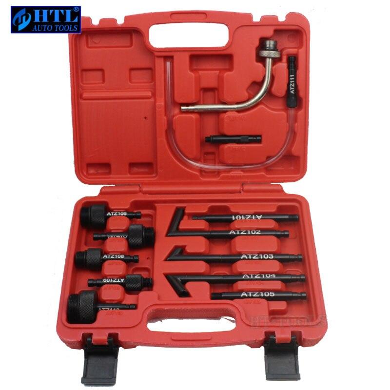 цена на Auto CVT DSG 01G 09G Transmission 13Pcs Oil Filling Adaptor For VW AUDI BMW BENZ Ford VOLVO HONDA
