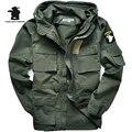 Военная Форма мужская 101 Ввс Плюс Размер Траншеи Тонкая Талия Классический Ватные Куртки Парка Пальто Куртки М ~ 3XL C35E2