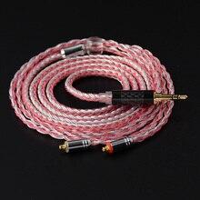NICEHCK 16 Core Koper Zilver Gemengde Kabel 3.5/2.5/4.4mm MMCX/2Pin Voor TFZ ZSX ZS10 ST10 C12 C16 BA5 V90 NX7 PRO/DB3/F3/M6 BL 03
