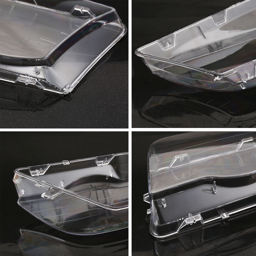 Image 4 - Car Headlight Glass Cover Clear 4 Door Automobile Left Right Headlamp Head Light Lens Covers Styling For BMW E46 98 01-in Shell from Automobiles & Motorcycles
