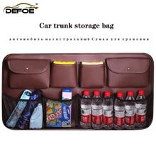 רכב trunk אחסון תיק רכב ארגונית רכב סיאט ארגונית רכב אחסון תיק גדול קיבולת חגורת נטו freeshipping