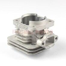 49cc Minimoto 44mm 44-6 Cylinder Head For 2 Stroke Engine Parts Chinese Pocket Dirt Bike Mini Kids ATV Quad