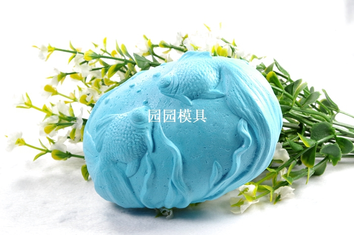 Goldfish Silicone Soap Mold Handmade 3d Silicone Mould DIY Craft Molds S339