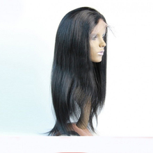 8A Silky Straight Wig Virgin Brazilian Lace Front Wig Silky Straight Glueless Human Hair Full Lace Wig With Baby Hair