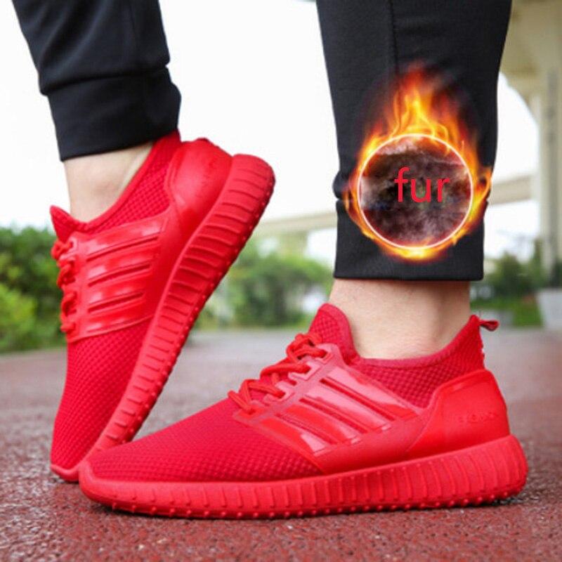REETENE Women Casual Shoes Autumn Winter Women Shoes Fashion Lace-Up Flat Men Shoes Sneakers Women Winter Footwear Men