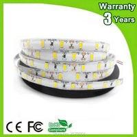 (10 шт./лот) 5 м 300 светодиоды SMD5730 SMD5630 60leds/м 2 года гарантии Epistar 12 В гибкие IP65 Водонепроницаемый 5630 Светодиодные ленты 5730