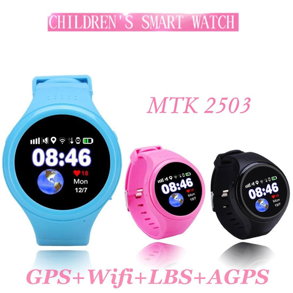 T88 Bluetooth Kids Smartwatch Phone Smart Baby Watch Round Screen MTK2503 2G Smart Wristwatch SOS WiFi GPS Wacth Pedometer SIM smart baby watch q60s детские часы с gps голубые