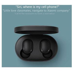 Image 2 - xiaomi redmi airdots bluetooth earphone Auriculares Bluetooth Estéreo Bajo Inalámbricos Redmi Airdots TWS de Ruido con Micrófono Manos Libres AI Control Xiaomi Reducción