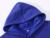 Hoodies das mulheres sólidos azul hoodies ocasionais dos homens com bolso marca clothing top qualidade total & inverno algodão hoodies & camisolas