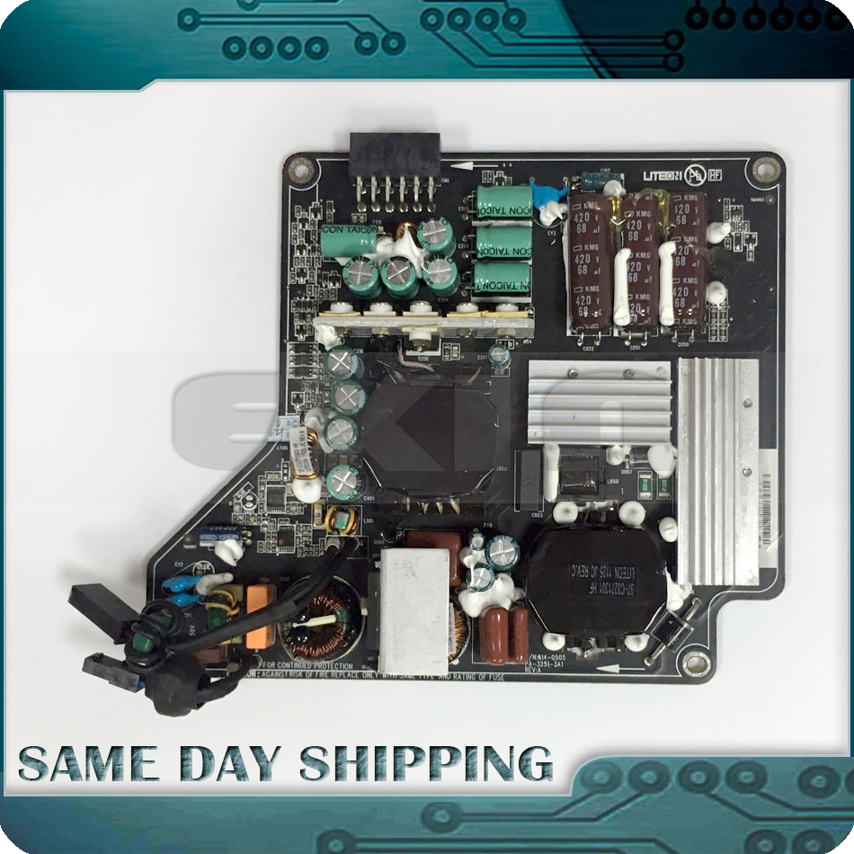 Genuine for 27 A1316 A1407 LED Cinema Dispaly/Thunderbolt Display Power Supply PSU 661-6048 614-0496 614-0505 614-0506 614-0509