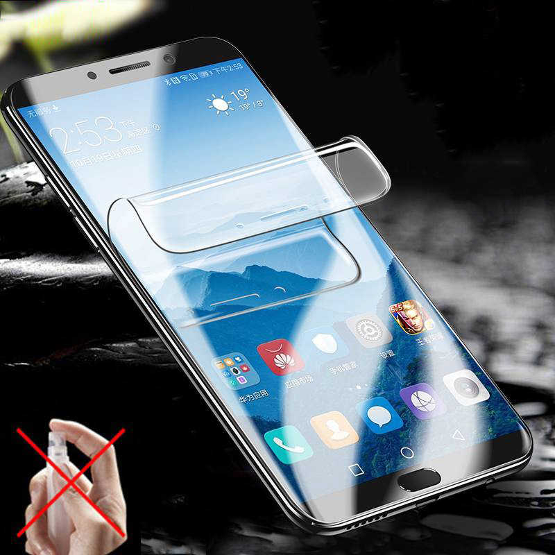 10D Full Curved Soft Hydrogel Film For Samsung Galaxy S10 S9 S8 S7 S6 Edge Plus Screen Protector For Samsung Note 9 8 Not Glass