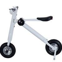 Plegable Scooter Eléctrico 48 V 350 w 8A Portátil vehículo de dos ruedas scooter Eléctrico bicicleta eléctrica ET moto