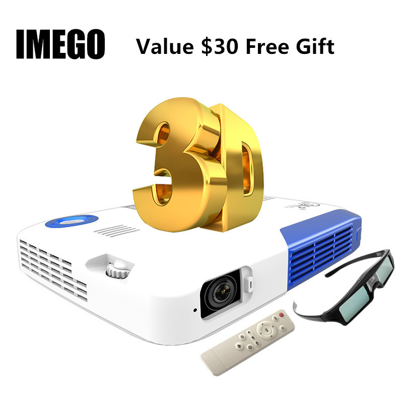 Pocket 3D <font><b>Projector</b></font> HDMI Home Theater Multimedia <font><b>Projector</b></font> Full HD 1080P Video Wireless WIFI Miracast DLNA Airplay <font><b>LED</b></font> Proyector