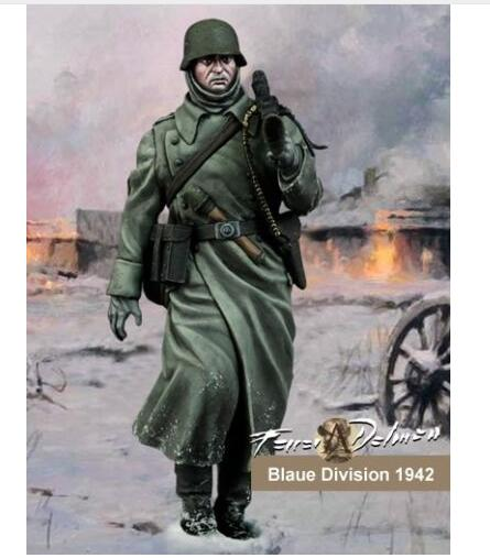 1/24 75mm Division Soldier German Army soldier 75mm toy Resin Model Miniature Kit unassembly Unpainted free shipping super affordable military base 310pcs set plastics toy soldier sand table model army soldier boy christmas gifts