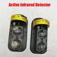 NOVOXY Photoelectric Dual Beam Perimeter Fence Active Infrared IR Sensor Barrier Detector 10-100M Window Outdoor Intrusion Alarm