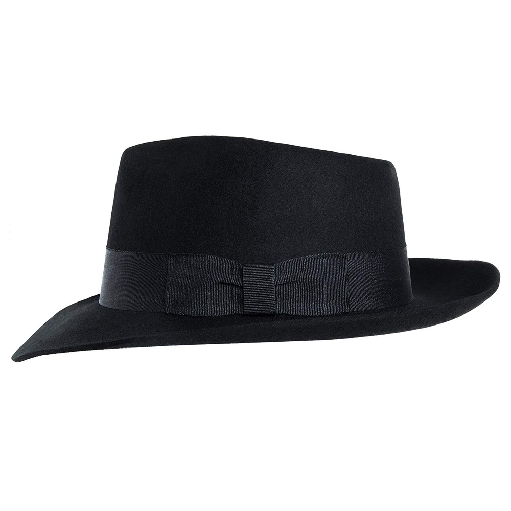 MJB2C - Michael Jackson Hat - Fedoras - Black