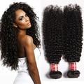 Mongolian kinky curly cabelo com encerramento 3 pcs trama com cabelo do bebê fechamento rendas mongol afro crespo encaracolado virgem feixes de cabelo