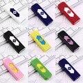 Восемь Цветов Нет Газа USB Электронная Аккумуляторная Батарея Непламено Зажигалка Бесплатная доставка