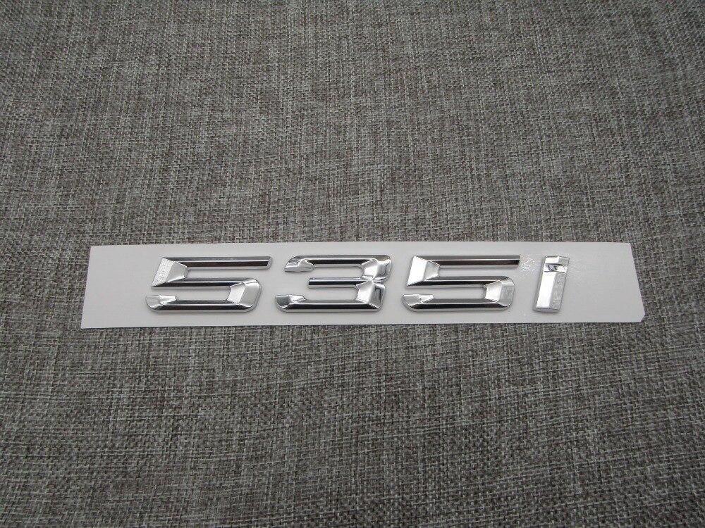 BLACK /'X7/' ABS Plastic Car Trunk Lid Sticker Letter Badge Emblem for BMW X7