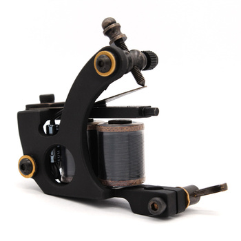 Professional Carbon Steel Imported Coil 10 Wrap Coils Tattoo Machine For Liner & Shader Supply