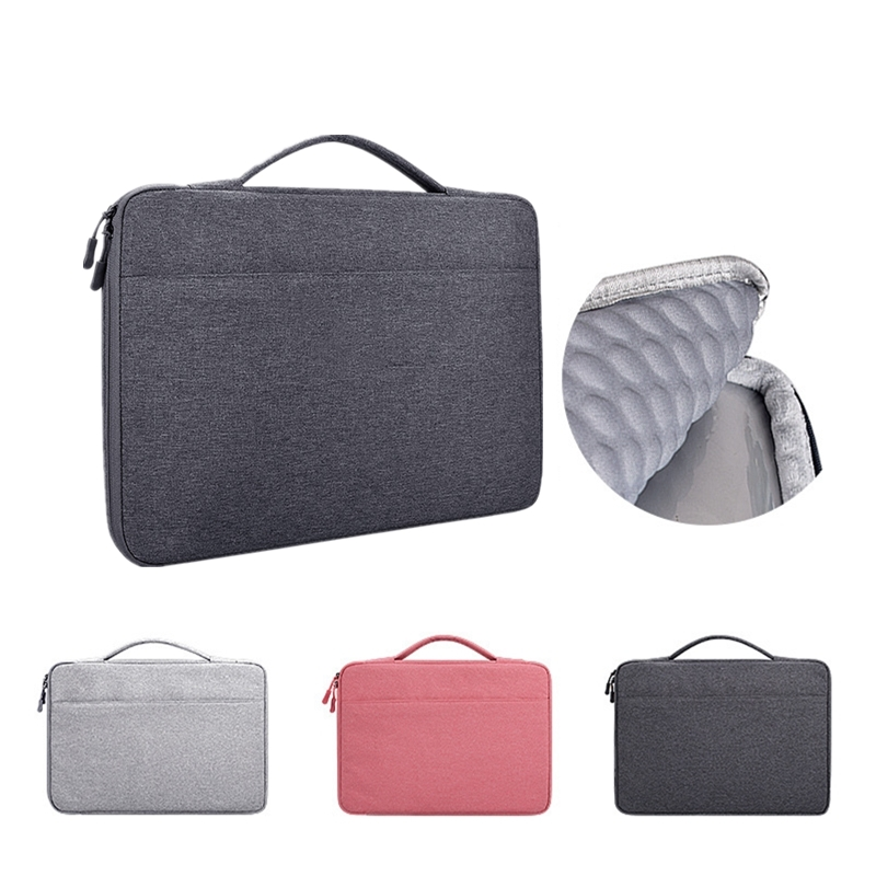 Laptop Bag Laptop Handbag Multi-functional Notebook Sleeve Carrying Laptop Case For Macbook Air Pro Retina 13.3 14.1 15.6 Inch