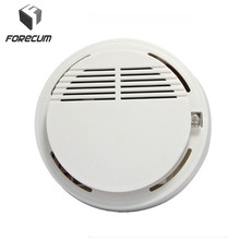 High Sensitivity Smoke Detector Fire Smoke Alarm Sensor Standalone Photoelectric Smoke Detector Security System For Home Kitchen
