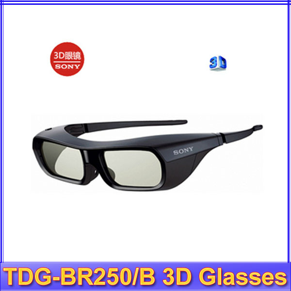 Free Shipping Gift Idea 2013 New Brand NEW Genuine 3D <font><b>ACTIVE</b></font> <font><b>GLASSES</b></font> <font><b>FOR</b></font> <font><b>SONY</b></font> <font><b>TV</b></font> TDG-BR250/B