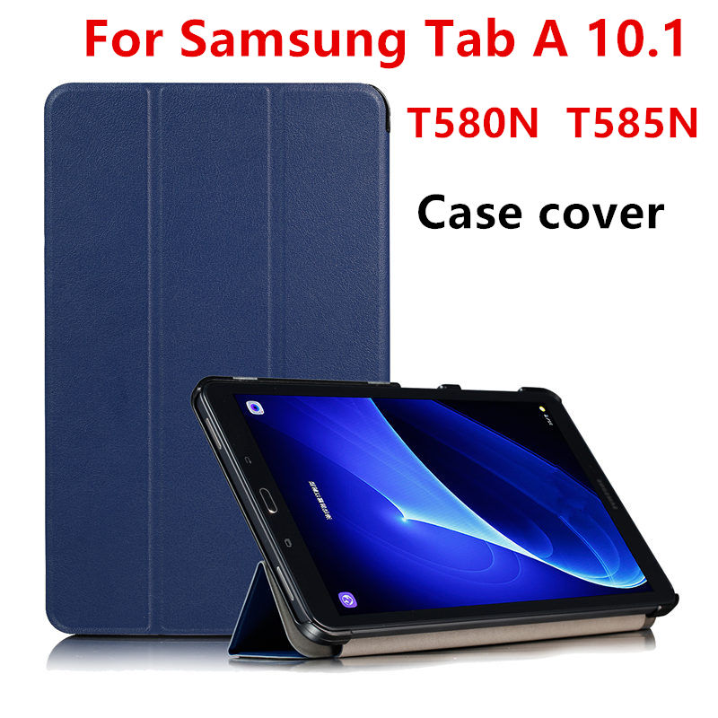 Case Cover For Samsung Galaxy Tab A6 A 10.1 T585 T580 SM-T585 T580N T585C tablet Leather Protector Protective PU 2016 10.1 inch flip cover pu leather for samsung galaxy tab a6 10 1 2016 t585 t580 sm t585 t580n tablet case cover soft tpu back cover