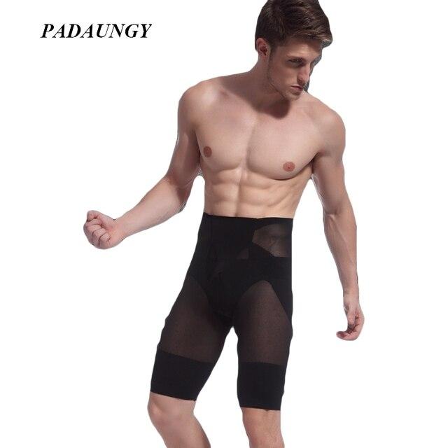 PADAUNGY Butt Bragas Vientre Adelgaza Vaina Bodybuild Entrenador Cintura Butt Lifter Con Control Tummy Bragas Hombres Moldeadores Del Cuerpo
