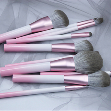BBL 10pcs Pink Makeup Brushes Set Premium Quick-dry Fiber Powder Blush Eyeshadow Blending Highlighter Brush Kit Cosmetic Tools