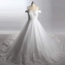 yiaibridal LZ249 Royal Train Wedding Dresses Gowns