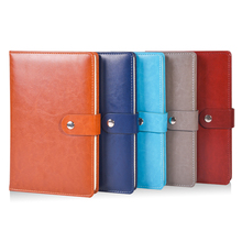 RuiZe fashion hardcover notebook A5 leather planner agenda 2020 office business note book paper daily memos notepad stationery стоимость