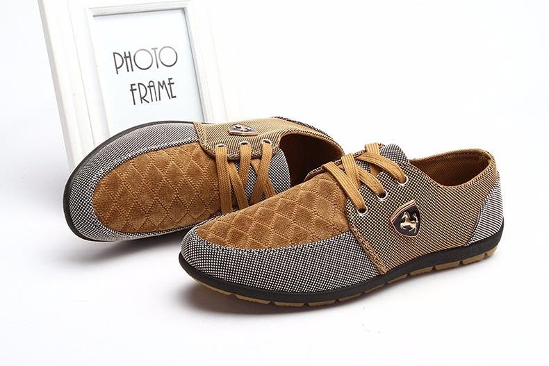 18 Fashion Canvas Shoes Men Casual Shoes Summer Breathable Yellow Comfortbale Espadrilles Sneakers Men Flats Shoes Big Size 5