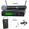 SLX4 Free shipping SLX14/BETA58A headset/lapel/handheld microfone 800-820Mhz microfone wireless uhf mic professional SLX24 BETA