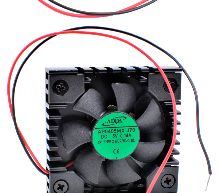 AP0405MX-J70 4008 4cm 40x40x8mm DC5V 0.14A TV box router mobile phone transformation special heat sink fan