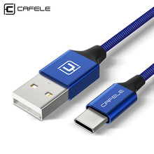 Cafele USB-C Cable for Xiaomi A1 Type C Charging Data Transmission USB Nylon Woven Samsung S8