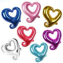 18 inch Heart Balloons 5 Pcs Wedding Decoration Foil Inflatable Balls Ballons Air Birthday Party Baloon