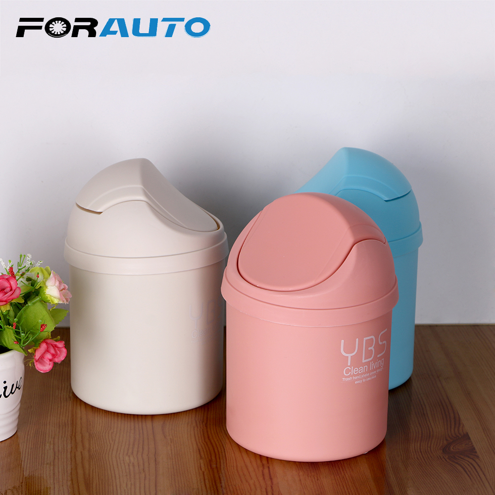 FORAUTO Car Trash Garbage Can Trash Container Dustbin Univers