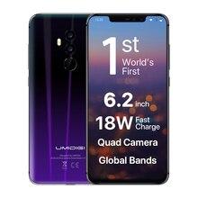 UMIDIGI Z2 6.2″ FHD+Full Screen 4G Global Version Helio P23 6GB RAM 64GB ROM Quad Camera Android 8.1 3850mah Face ID Smartphone