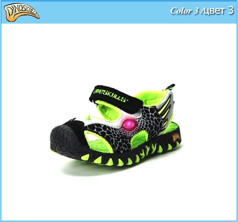 3D For Dinosaur Sandals 17