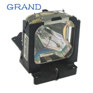 Image 2 - Venda da fábrica brandnew POA LMP86 substituição lâmpada do projetor nua com habitação para sanyo PLV Z1X/PLV Z3 bate feliz