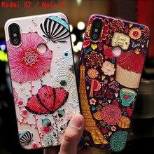 YonLinTan роскошный банк, чехол для Xiomi Xiaomi Redmi s2 S 2/Note 3 note3 pro 3pro Телефон Назад Мягкий 3D силиконовый милый