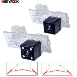 CCD سيارة للرؤية الخلفية عكس الكاميرا لرينو فلوينس داستر HD للرؤية الليلية كاميرا ديناميكية مسار المسار كاميرا لموقف السيارات
