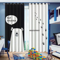 Polar bear Window 3D Curtain Living Room Modern Home Goods Window Treatments Polyester Printed 3d Curtains For Bedroom